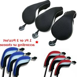 Hybrid Golf Club Head Covers For Woods With Interchangeable