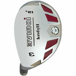 iDrive Hybrid Ironwood head only: Choose one loft from #3-SW