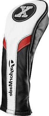 New 2017 TaylorMade Black/Red/White Hybrid Rescue Head Cover