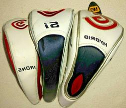 Cleveland Launcher and HiBore XL 3 Head Covers Hybrid 3i, Hy