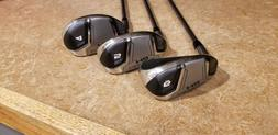 """Cleveland Launcher HB Turbo 4,5,6 Irons, +1"""" , 2 Degs Up, Re"""