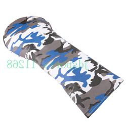 Naval Camouflage Golf Head Cover for Driver Fairway Hybrid C
