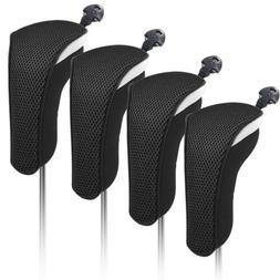 Neoprene Hybrid Head cover Golf Club Rescue Cover With Inter