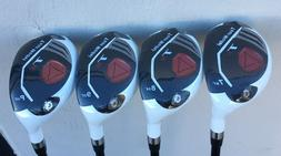NEW Taylor Fit Graphite REGULAR Rescue T11 Made Hybrids #7 #